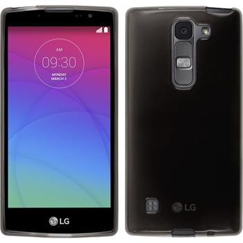 Silikonhülle für LG Spirit transparent schwarz