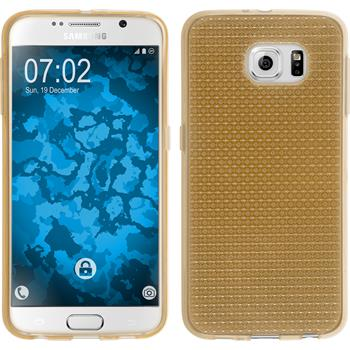 Silikon Hülle Galaxy S6 Iced gold
