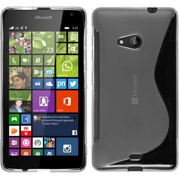 Silikon Hülle Lumia 535 S-Style clear