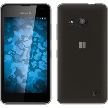 Silikon Hülle Lumia 550 Slimcase grau