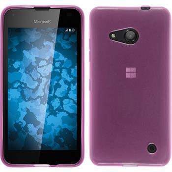 Silikon Hülle Lumia 550 transparent rosa