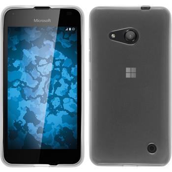 Silikon Hülle Lumia 550 transparent weiß