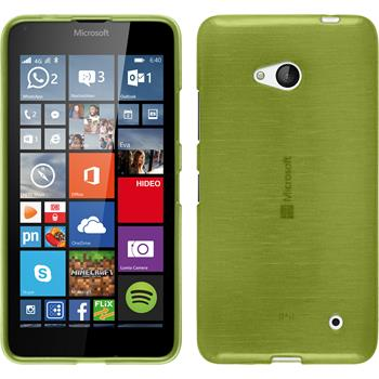 Silicone Case for Microsoft Lumia 640 brushed pastel green