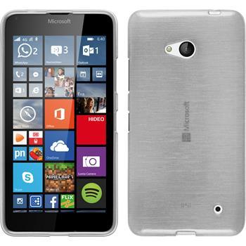 Silikon Hülle Lumia 640 brushed weiß