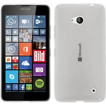Silicone Case for Microsoft Lumia 640 X-Style transparent