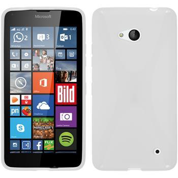 Silikon Hülle Lumia 640 X-Style weiß