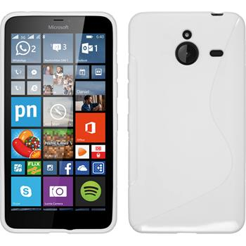 Silikon Hülle Lumia 640 XL S-Style weiß