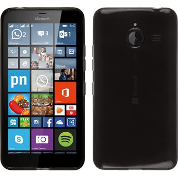 Silicone Case for Microsoft Lumia 640 XL transparent black