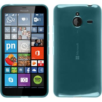 Silikon Hülle Lumia 640 XL transparent türkis