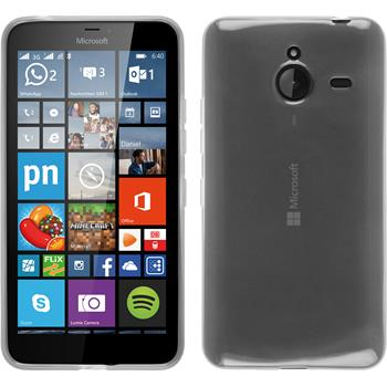 Silikon Hülle Lumia 640 XL transparent weiß