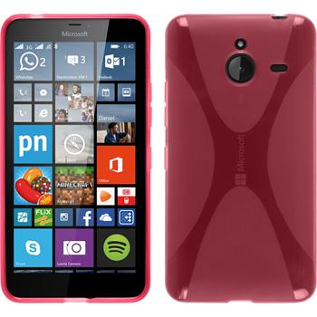 Silikon Hülle Lumia 640 XL X-Style pink