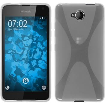 Silikon Hülle Lumia 650 X-Style clear