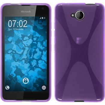 Silikonhülle für Microsoft Lumia 650 X-Style lila