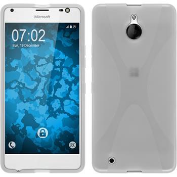 Silikon Hülle Lumia 850 X-Style clear Case