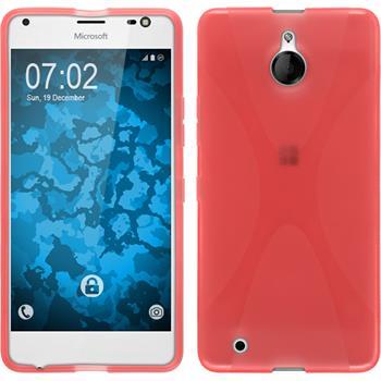 Silikon Hülle Lumia 850 X-Style rot