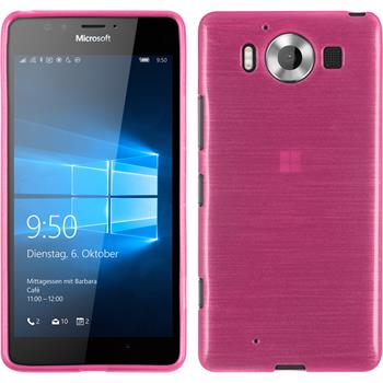 Silikon Hülle Lumia 950 brushed pink