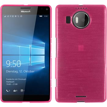 Silikon Hülle Lumia 950 XL brushed pink