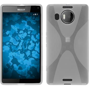 Silikon Hülle Lumia 950 XL X-Style clear