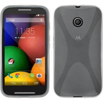 Silicone Case for Motorola Moto E X-Style transparent