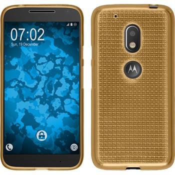 Silikon Hülle Moto G4 Play Iced gold