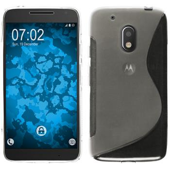 Silikon Hülle Moto G4 Play S-Style clear