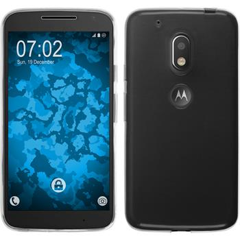 Silikon Hülle Moto G4 Play Slimcase clear