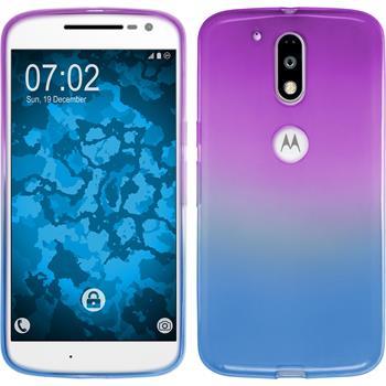 Silikonhülle für Motorola Moto G4 Plus Ombrè Design:04