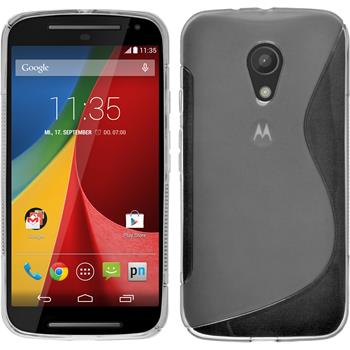 Silikon Hülle Moto G 2014 2. Generation S-Style clear