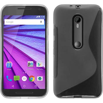 Silikon Hülle Moto G 2015 3. Generation S-Style clear