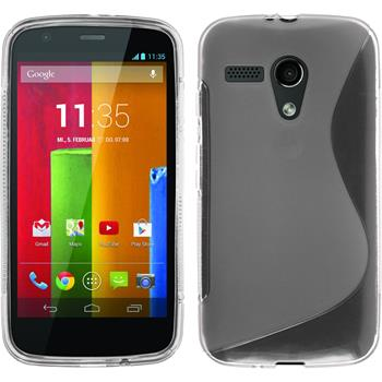Silicone Case for Motorola Moto G S-Style transparent