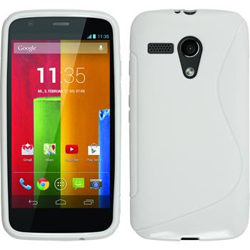 Silicone Case for Motorola Moto G S-Style white