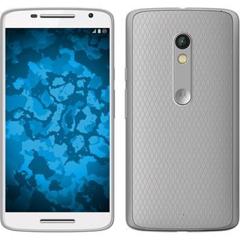 Silikon Hülle Moto X Play Slimcase clear