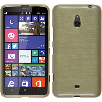 Silikon Hülle Lumia 1320 brushed gold