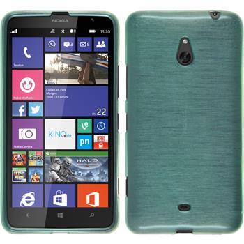 Silikon Hülle Lumia 1320 brushed grün