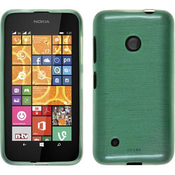 Silikon Hülle Lumia 530 brushed grün