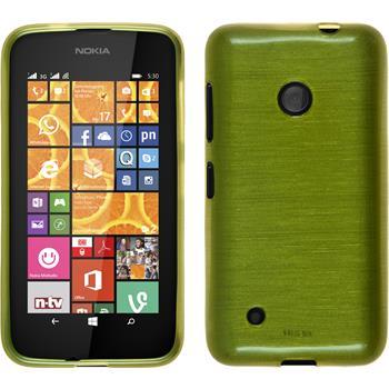 Silikon Hülle Lumia 530 brushed pastellgrün