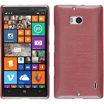 Silikonhülle für Nokia Lumia 930 brushed rosa