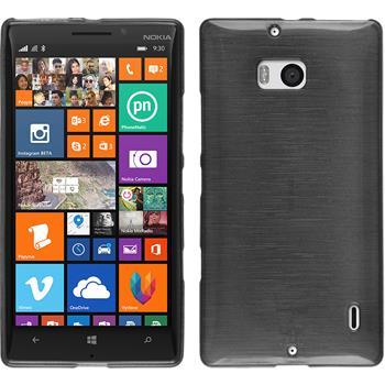 Silikonhülle für Nokia Lumia 930 brushed silber