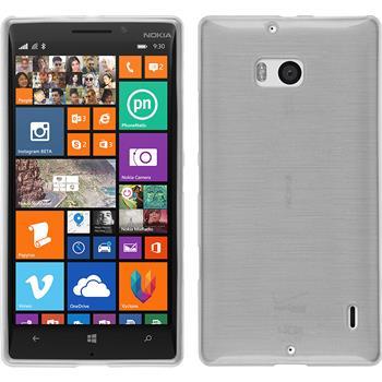 Silikonhülle für Nokia Lumia 930 brushed weiß