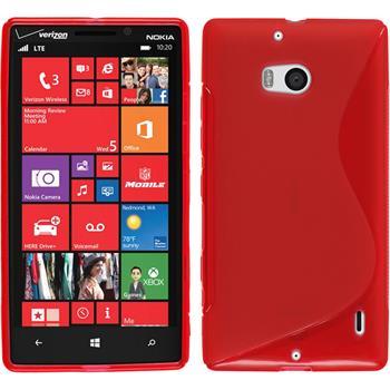 Silikonhülle für Nokia Lumia Icon S-Style rot