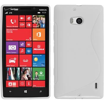 Silikon Hülle Lumia Icon S-Style weiß