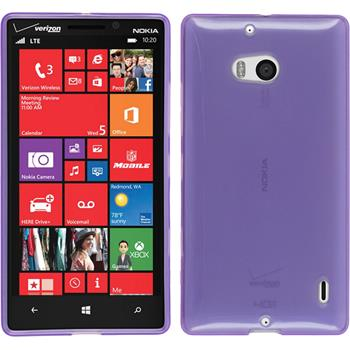 Silicone Case for Nokia Lumia Icon transparent purple