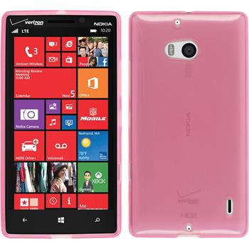 Silikon Hülle Lumia Icon transparent rosa