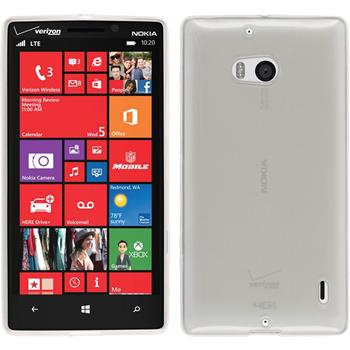 Silikon Hülle Lumia Icon transparent weiß
