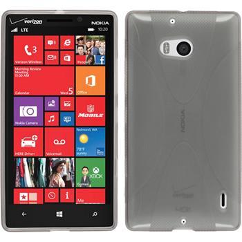 Silikon Hülle Lumia Icon X-Style grau