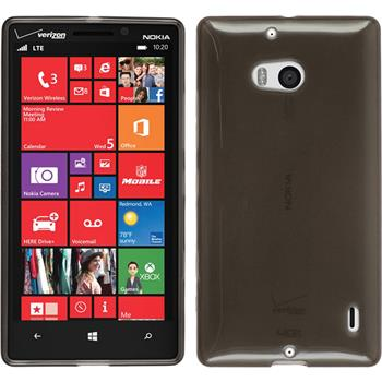 Silikon Hülle Lumia Icon transparent schwarz