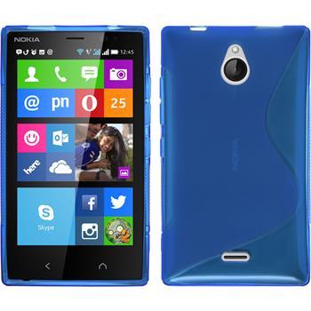 Silikon Hülle X2 S-Style blau