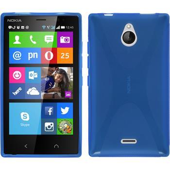 Silikon Hülle X2 X-Style blau