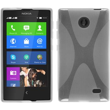 Silicone Case for Nokia X / X+ X-Style transparent
