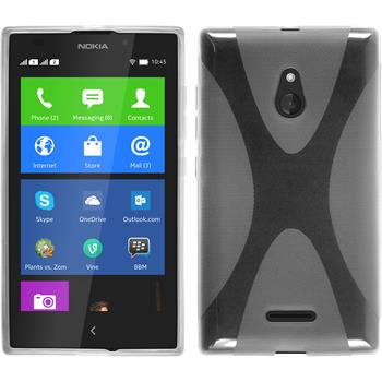 Silicone Case for Nokia XL X-Style transparent